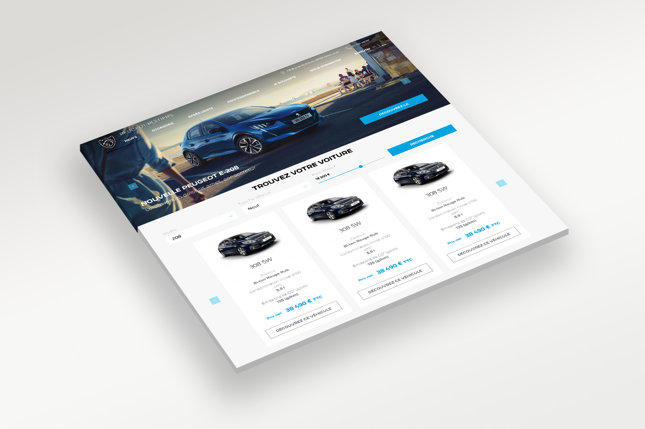 Car Search Widget